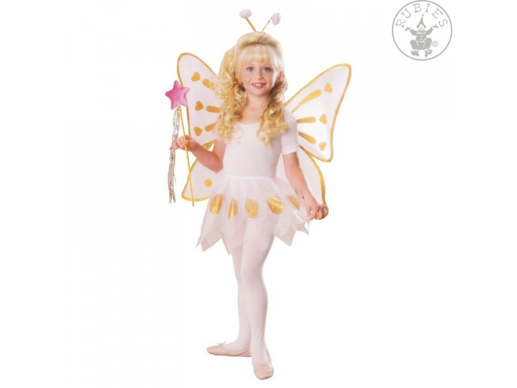 Motýlek set D  dětský dívčí karnevalový maškarní kostým