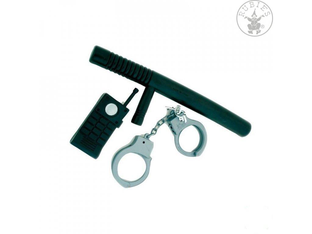 Policejní set 3dílný