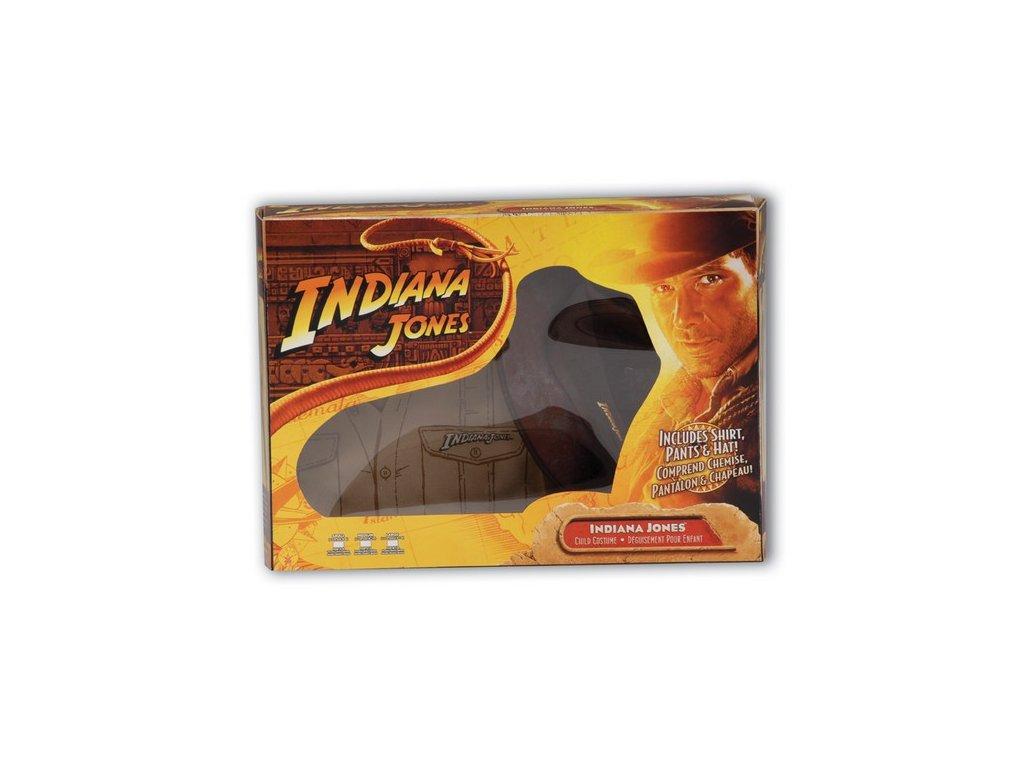 Indiana Jones Box set  - licenční kostým D  dětský - chlapecký karnevalový - maškarní kostým