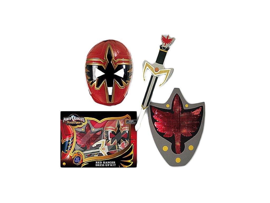 Power Ranger výzbroj - licence D  dětský - chlapecký karnevalový - maškarní kostým