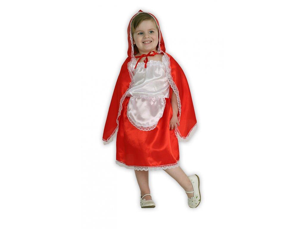 Červená karkulka - karnevalový kostým  dětský dívčí karnevalový maškarní kostým