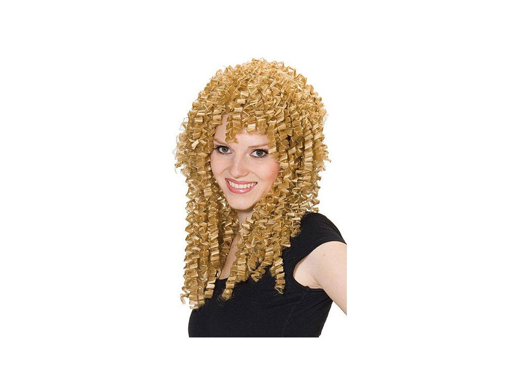 Crinkle Wig - karnevalová paruka D