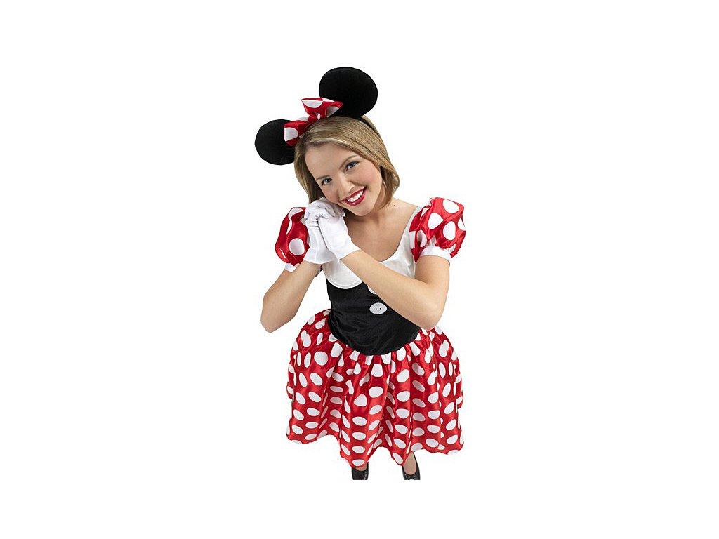 Minnie Mouse dospělá  - licenční kostým  dámský karnevalový kostým