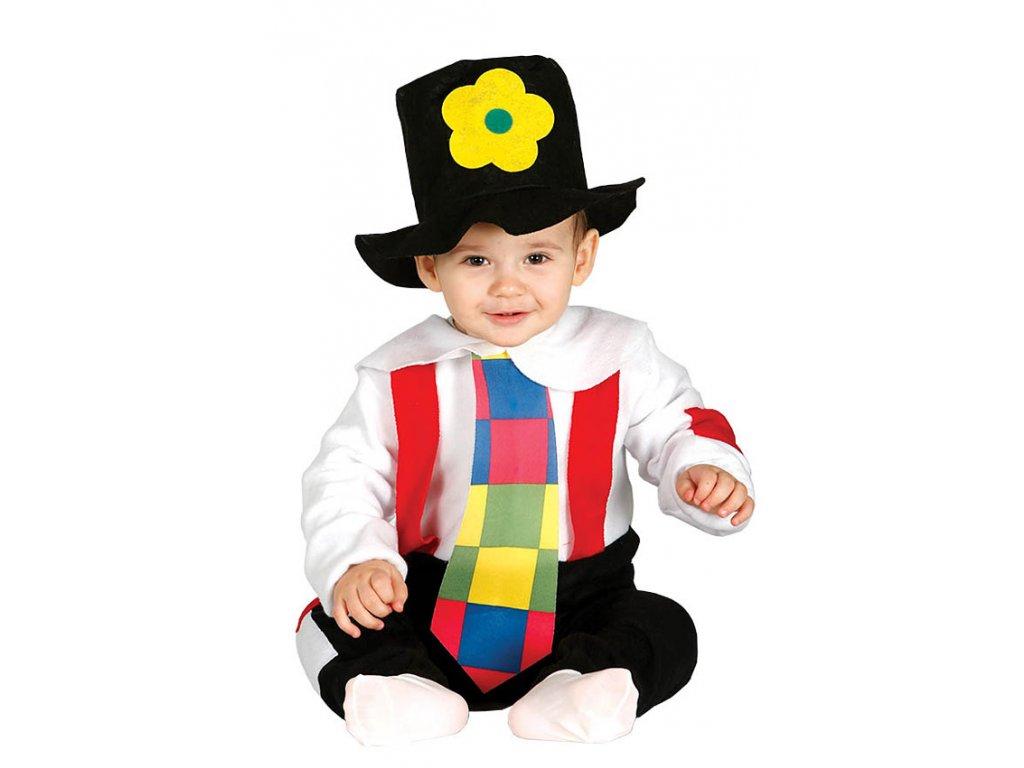 Vagabund 1 - kostým s kloboukem  (viz. rozměry) D