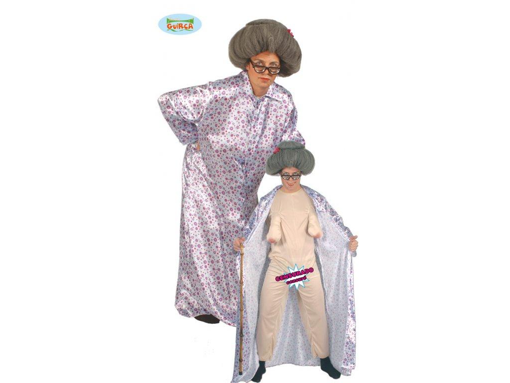 Sexy babička x  pánský karnevalový kostým