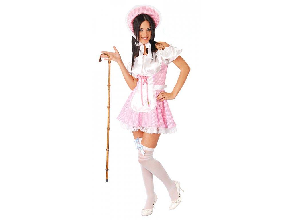 Sexy venkovanka červená    D  dámský karnevalový kostým