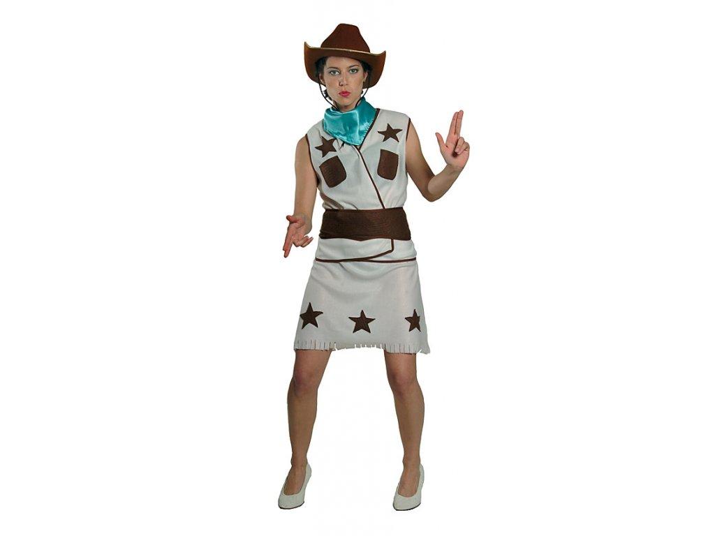 Kovbojka kostým D  dámský karnevalový kostým