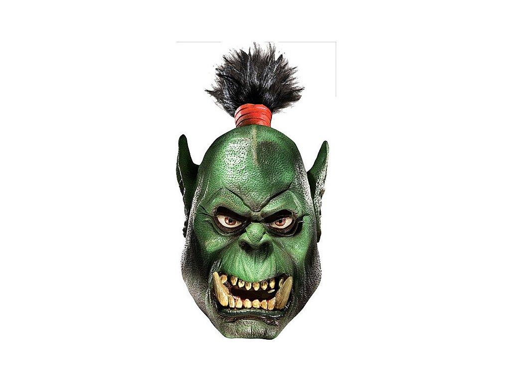 Orc DLX Latex Maske - licence D