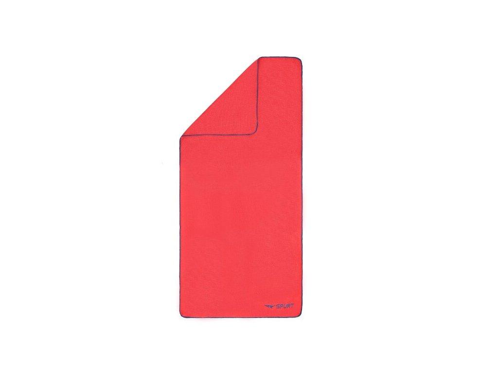 Froté ručník SPURT SRF01 růžový/tm.modrý