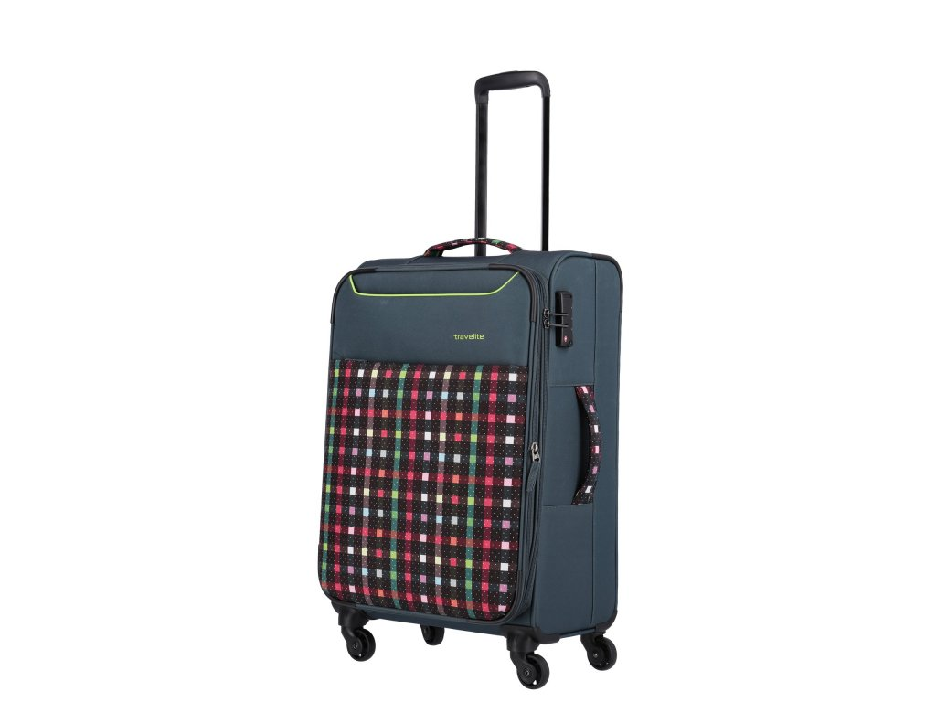 Travelite Argon M Checked Pattern