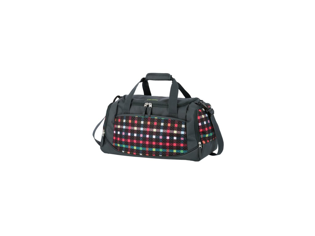 Travelite Argon Duffle Checked Pattern