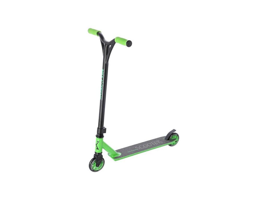 Freestyle koloběžka NILS Extreme HS102, zelená