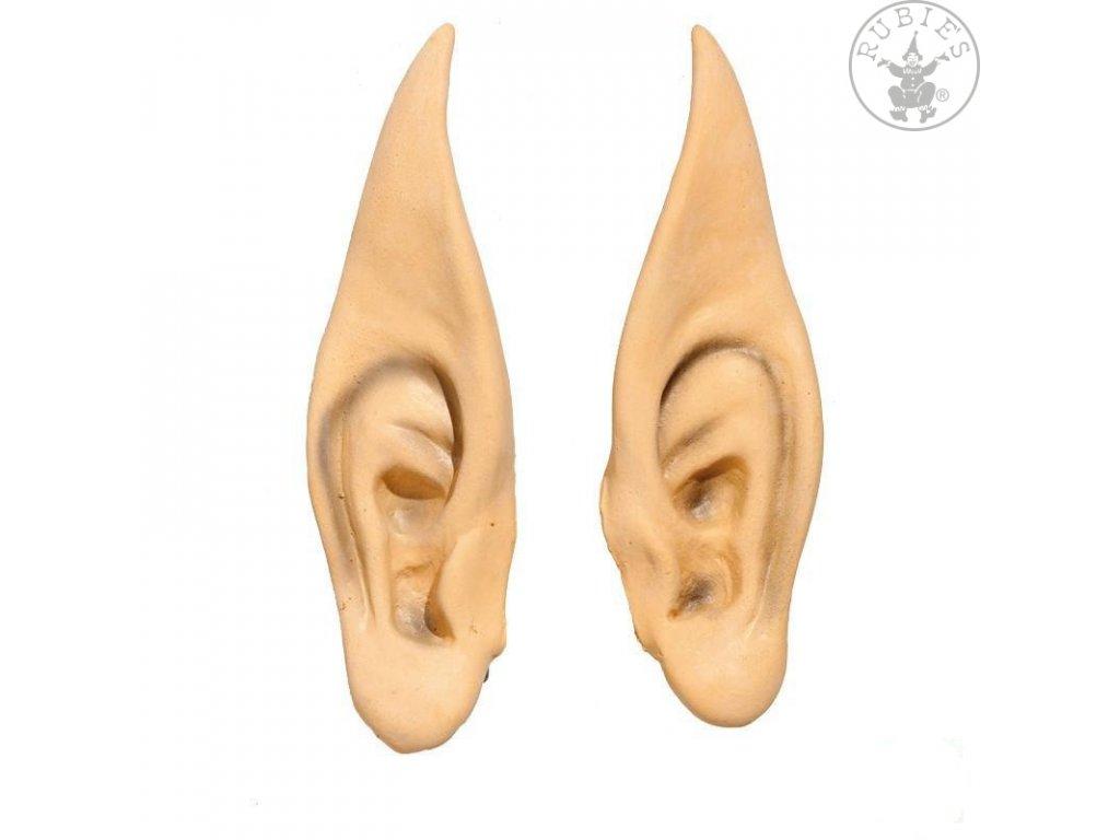 Špičačté uši velké