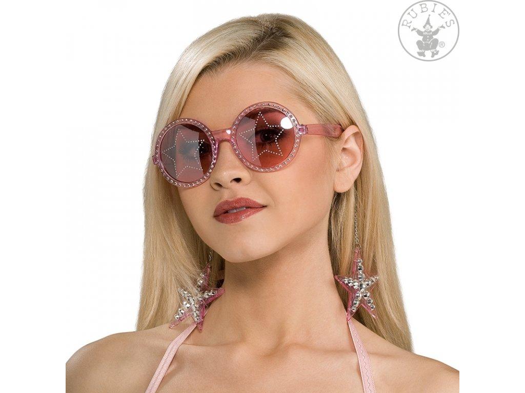 Brýle STAR s náušnicemi D