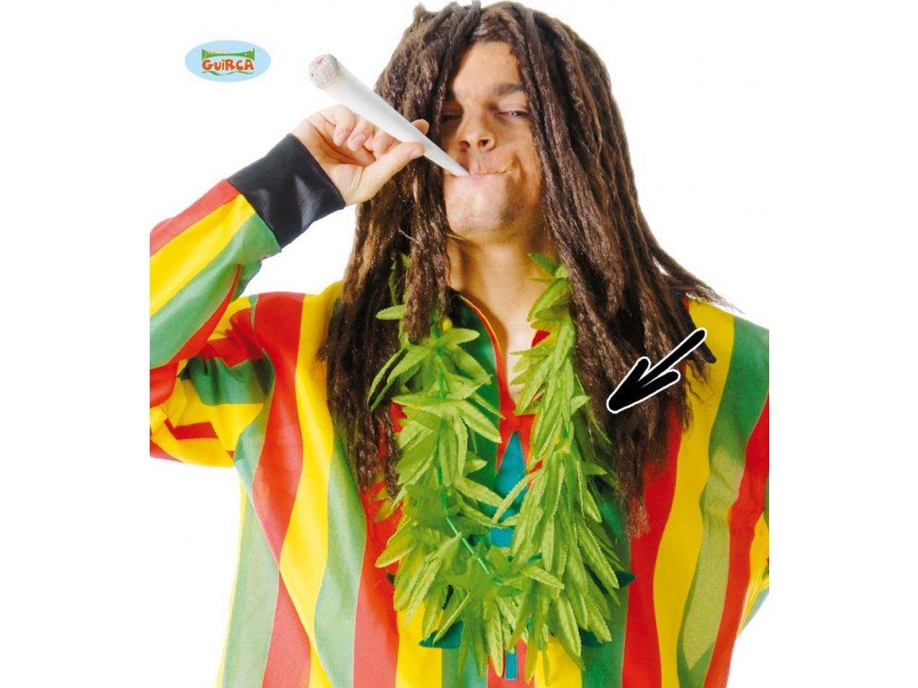 Věnec z marihuany
