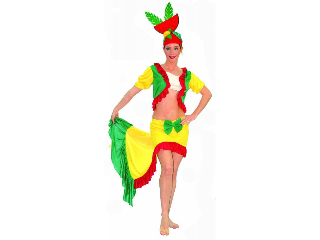 Kubánka - kostým D  dámský karnevalový kostým