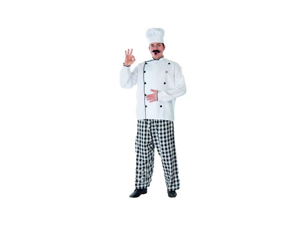 Kostým šéfkuchaře D  pánský karnevalový kostým