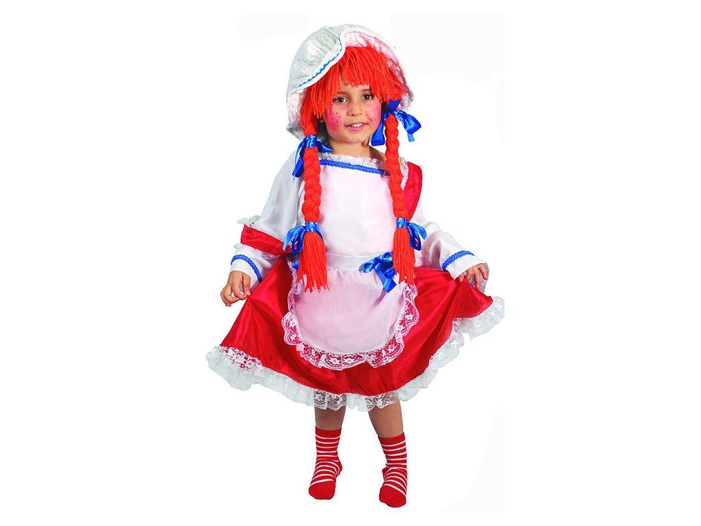 Pipi Punčochatá D  dětský dívčí karnevalový maškarní kostým