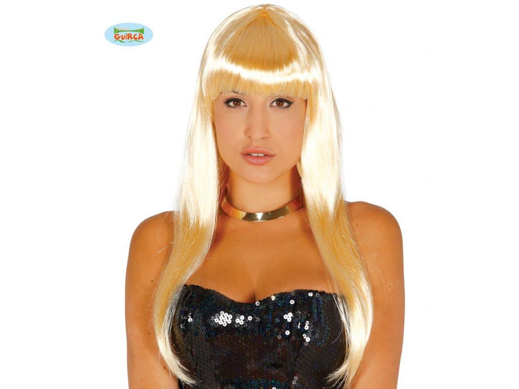 Paruka blond Melenas