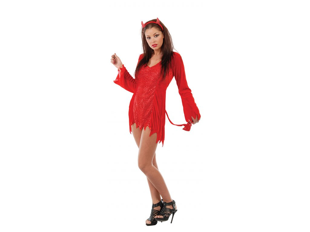 Ďáblice - sexy kostým - D  dámský karnevalový kostým
