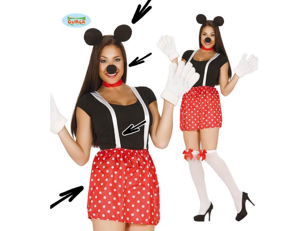 Souprava Minnie  dámský karnevalový kostým