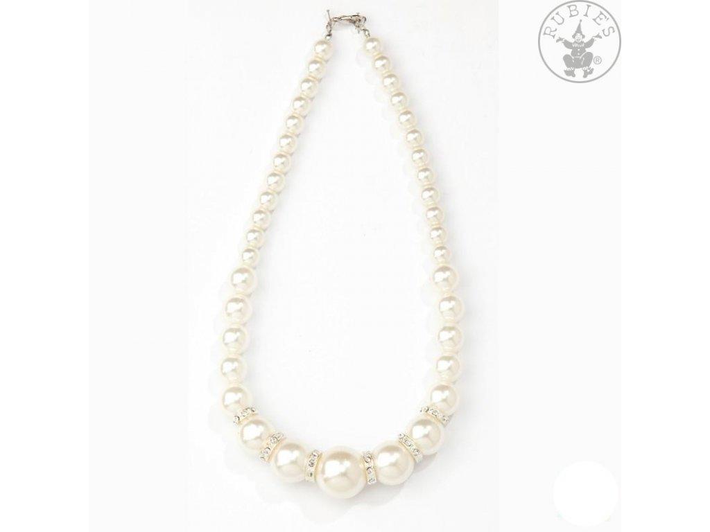 Perlový náhrdelník nový D