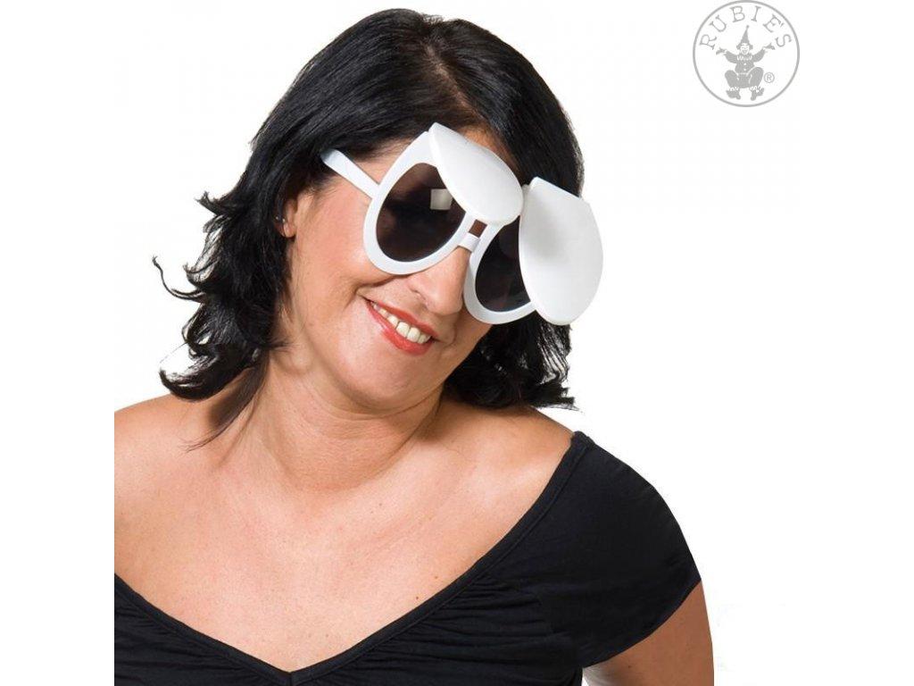 Brýle - záchodové prkénko s poklopem D