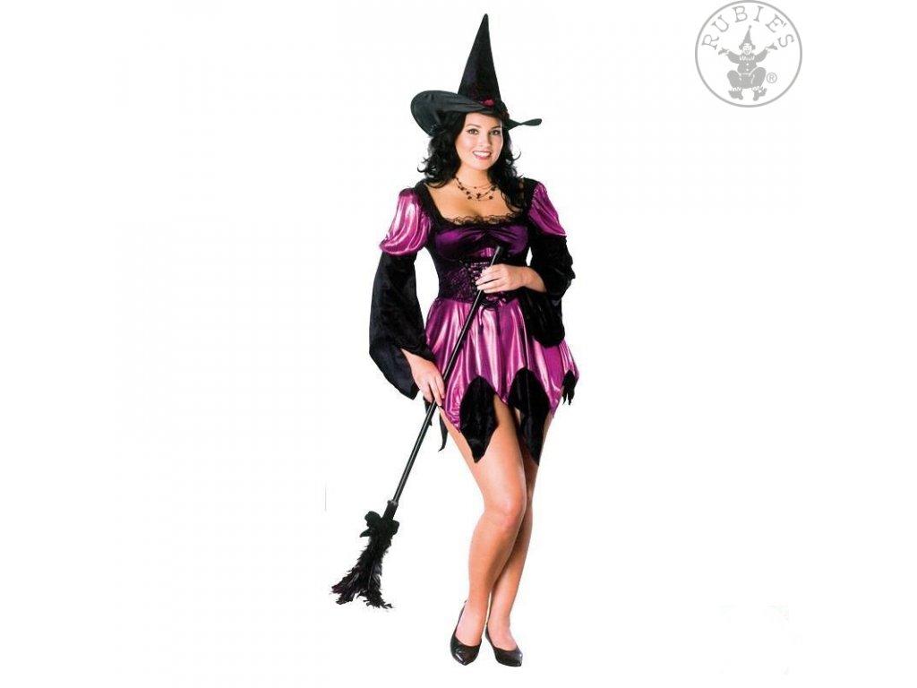 Karnevalový kostým Sexy Witch D  dámský karnevalový kostým sexy čarodějnice