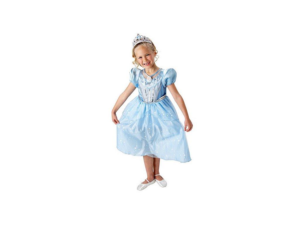 Kostým Sparkle Cinderella  - licenční kostým