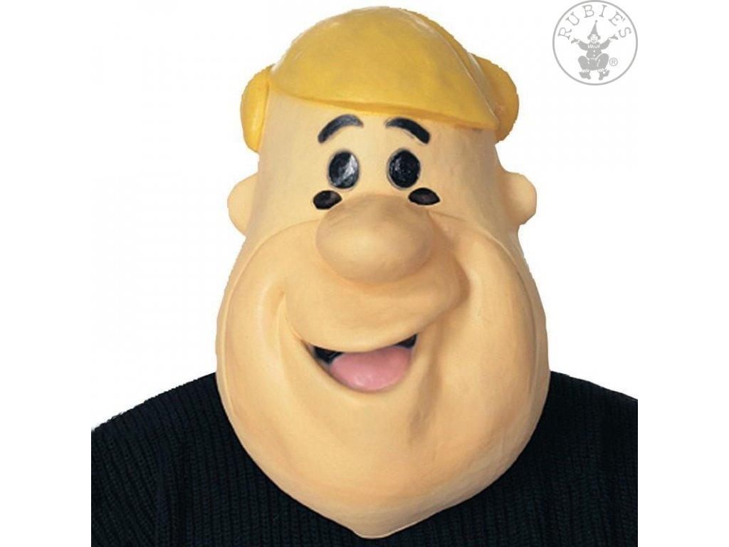Barney Latex Maske - licence D