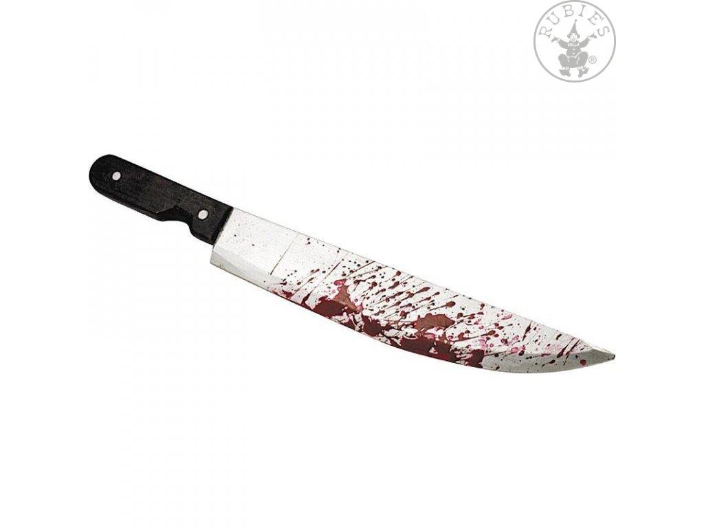 Zkrvavený nůž  dekorace Halloween