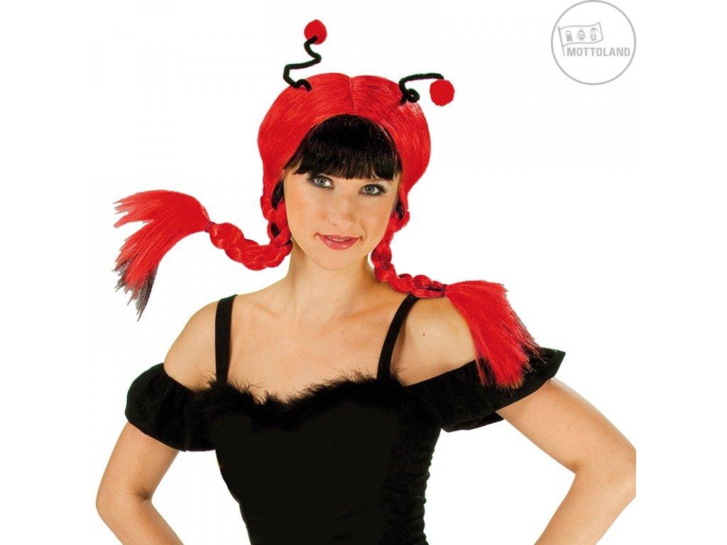 Ladybug Wig - karnevalová paruka D