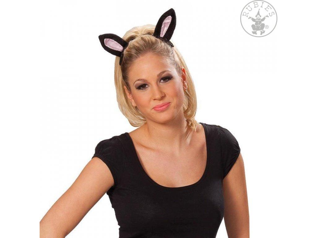 Kočičí uši na sponě D