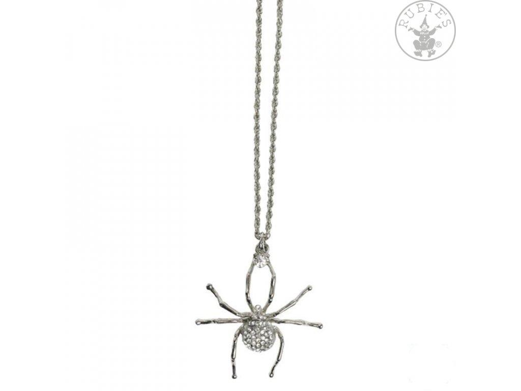 Pavouk - řetízek 30 cm  Halloween