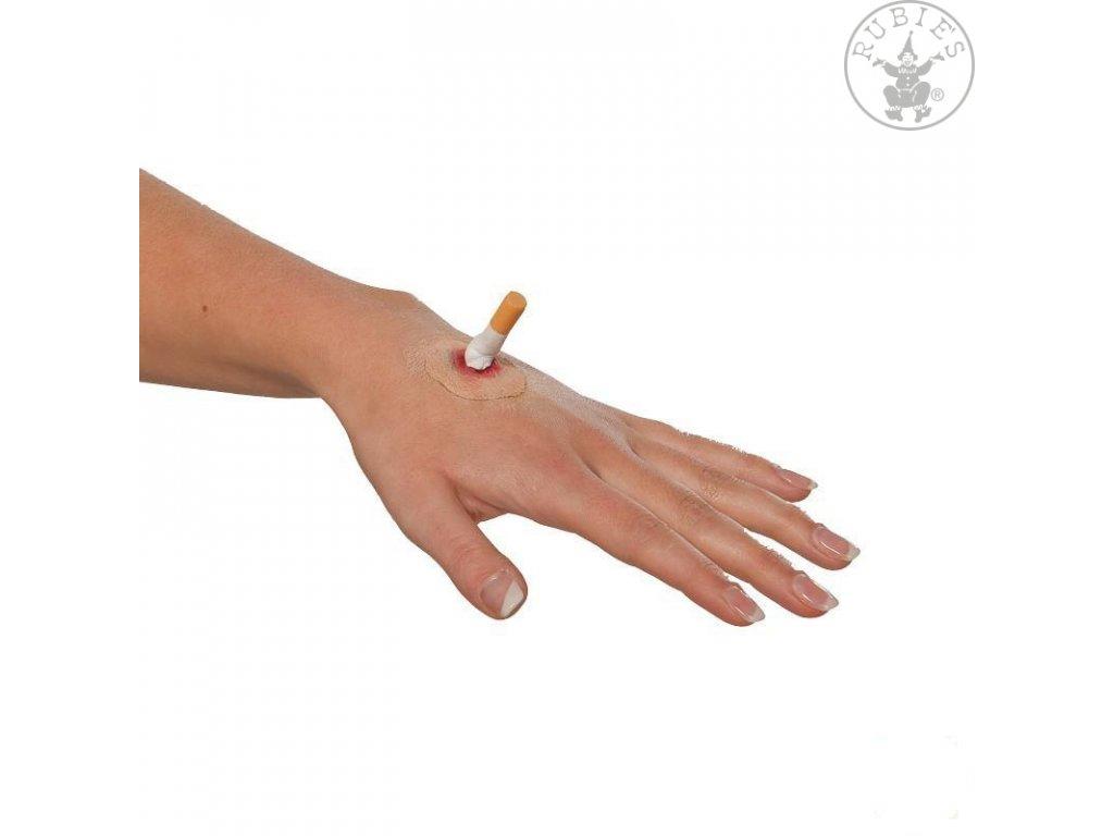 Popálenina cigaretou D  Halloween