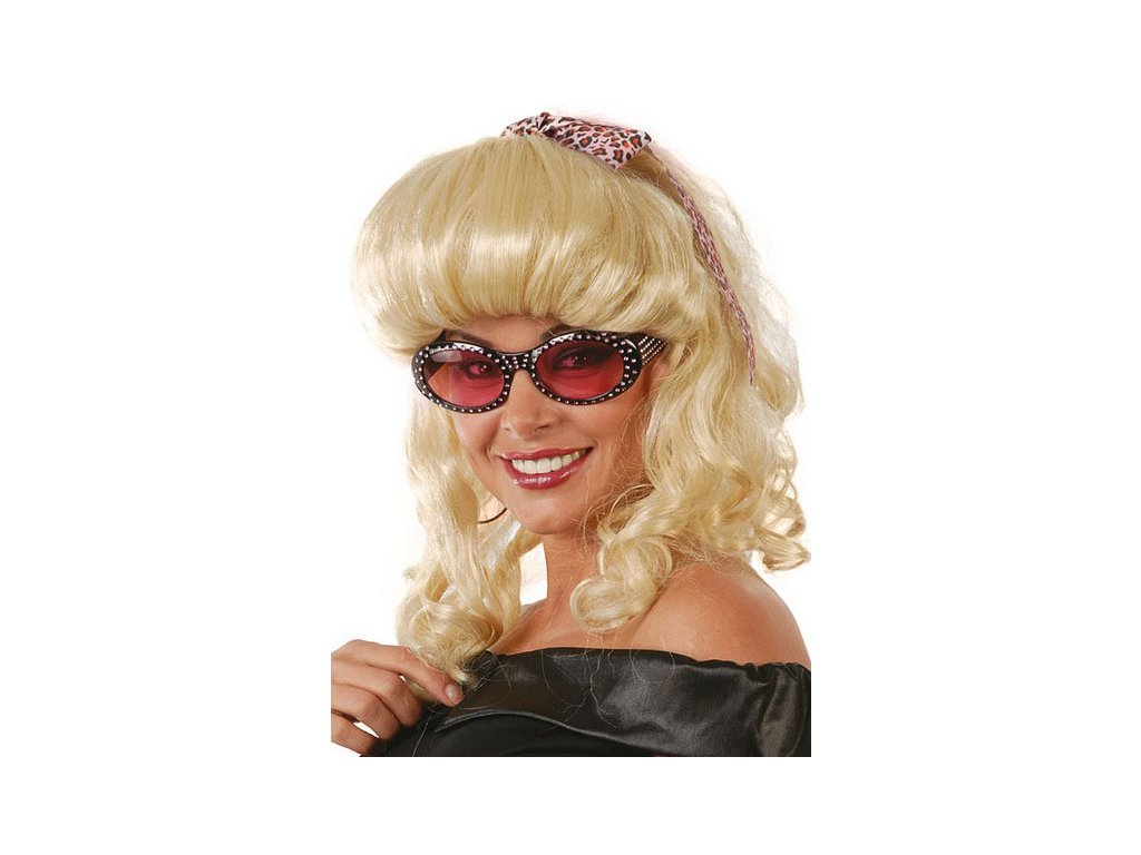 Paruka 60-tá léta blond D