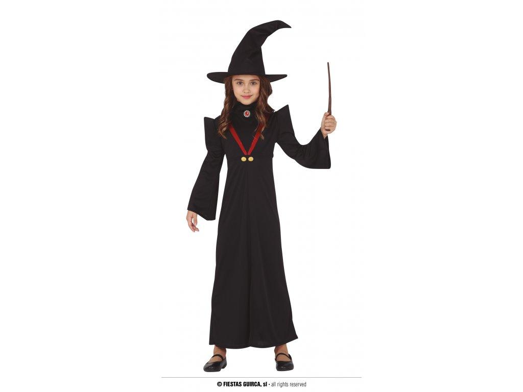 Profesorka Mcgonagallová čarodějka Harry Potter dětský kostým
