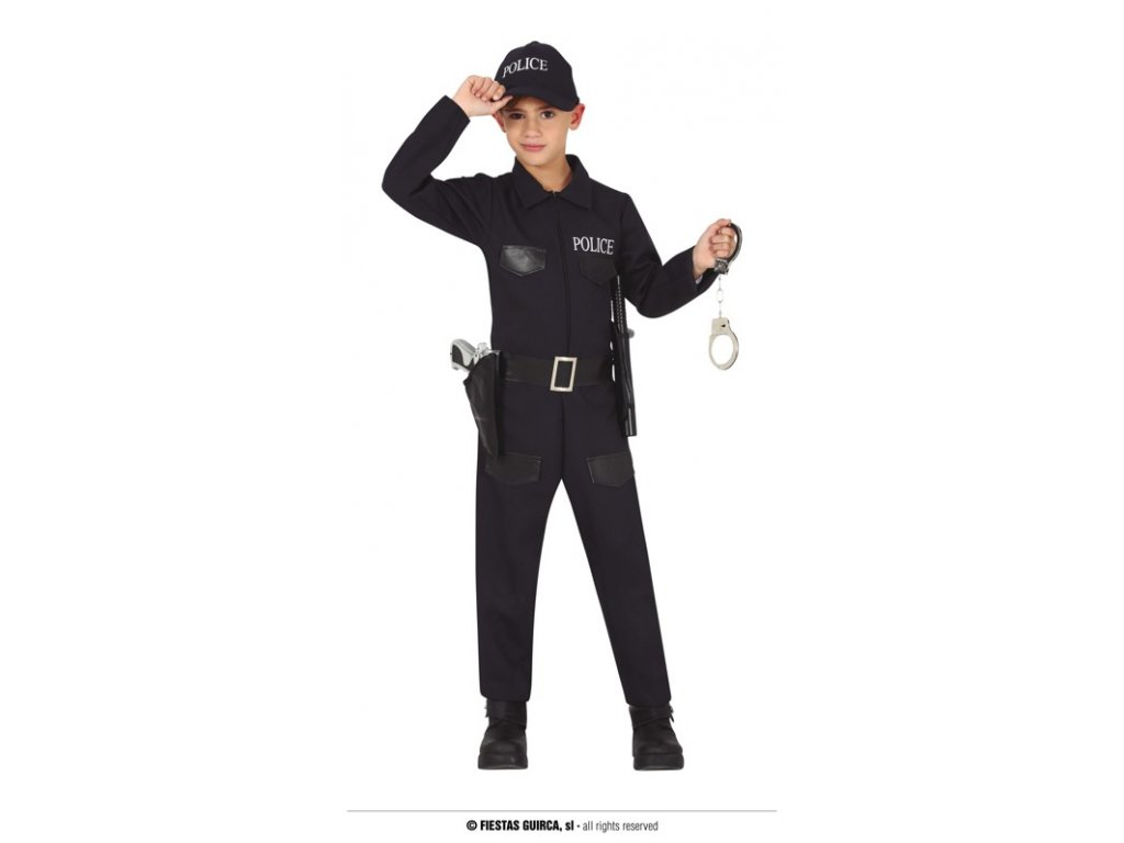 Policista dětský kostým