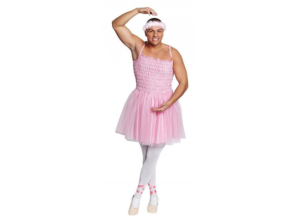 Balerína - kostým D  pánský karnevalový kostým