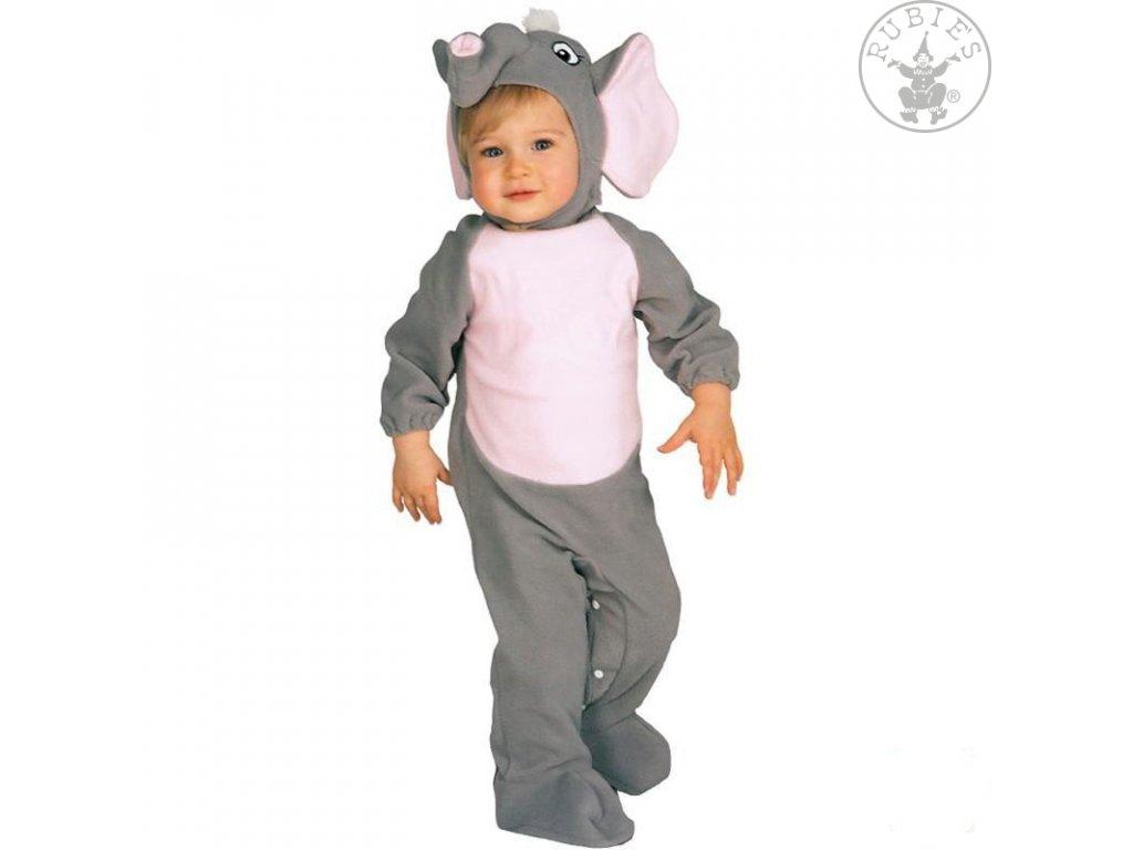 Karnevalový kostým Baby slon (6-12měsíců) X