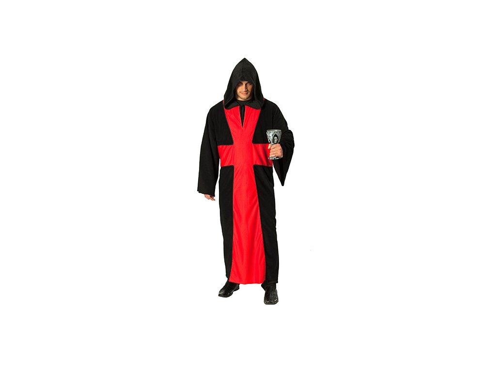 Ďábelský páter D  pánský karnevalový kostým