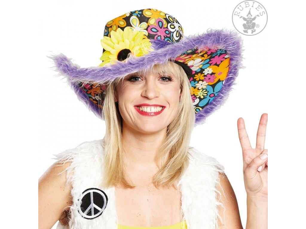 Hippie klobouk dámský lilla