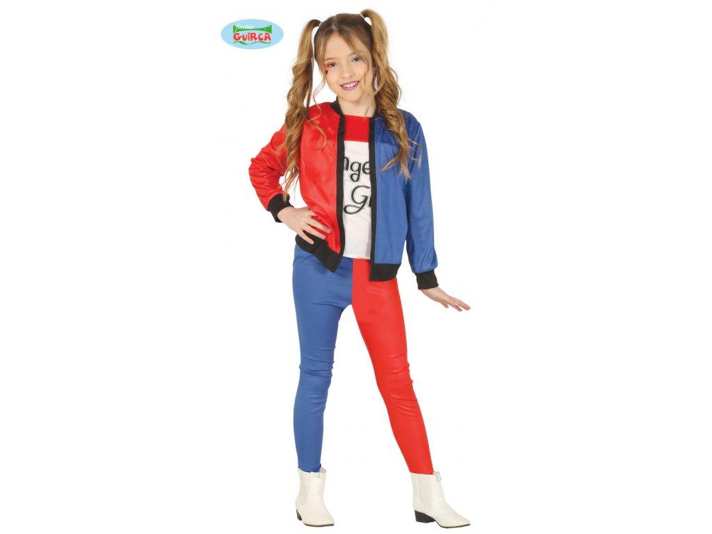 Harley Quinn- dětský kostým