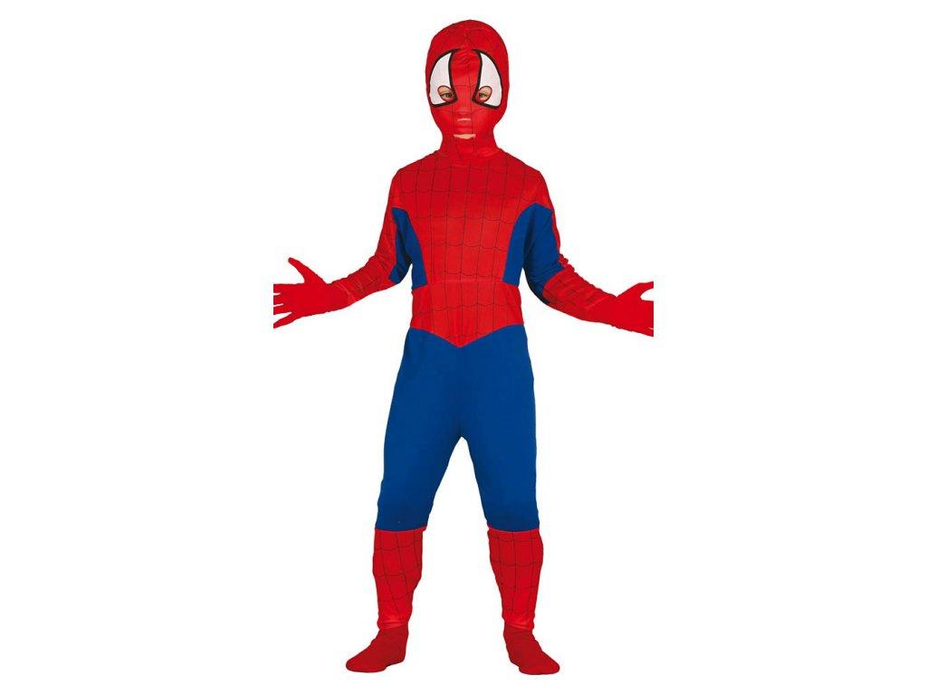 Dětský Spiderman - kostým pavoučí