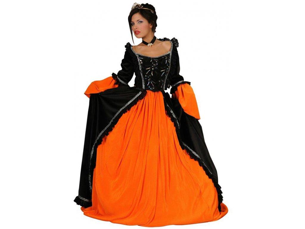Kostým černá princezna  dámský karnevalový kostým