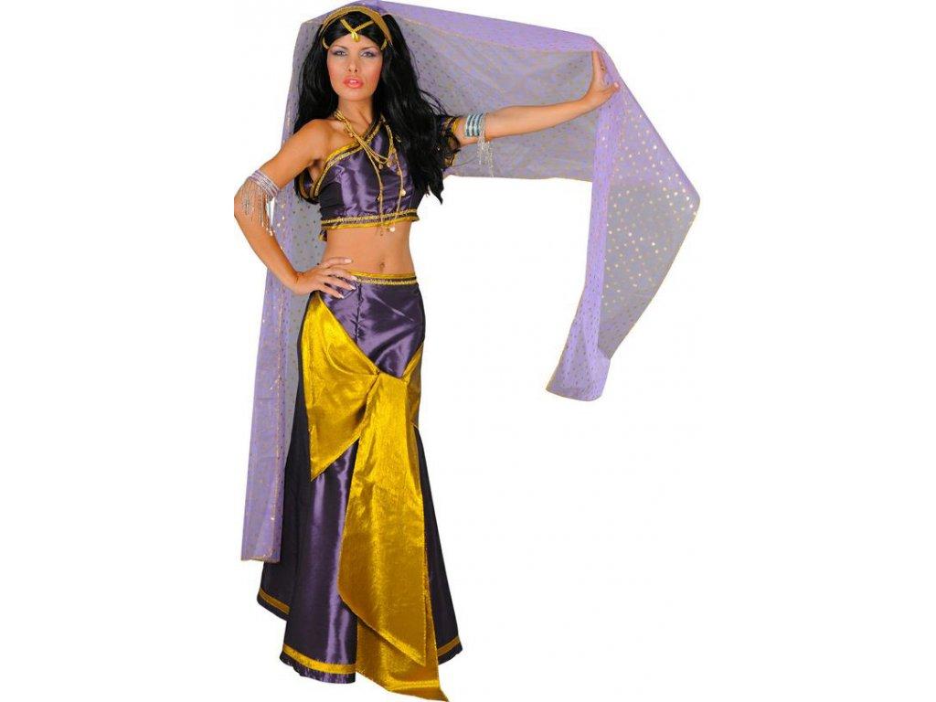 Kostým indické tanečnice  dámský karnevalový kostým