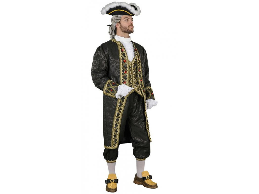 Lokaj II - kostým  pánský karnevalový kostým