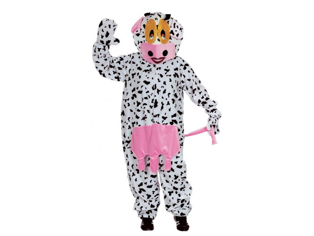 Kráva - kostým  pánský karnevalový kostým