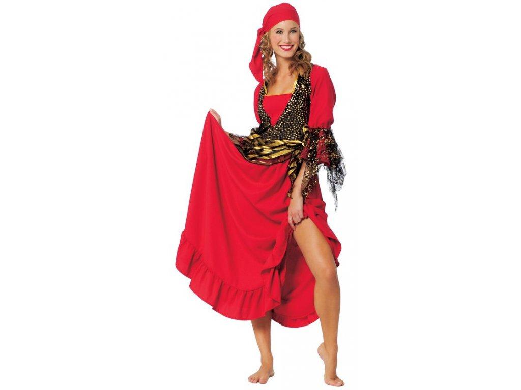 Pirátka  - kostým  dámský karnevalový kostým