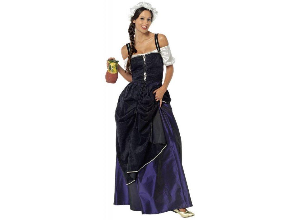 Servírka - kostým 341311  dámský karnevalový kostým